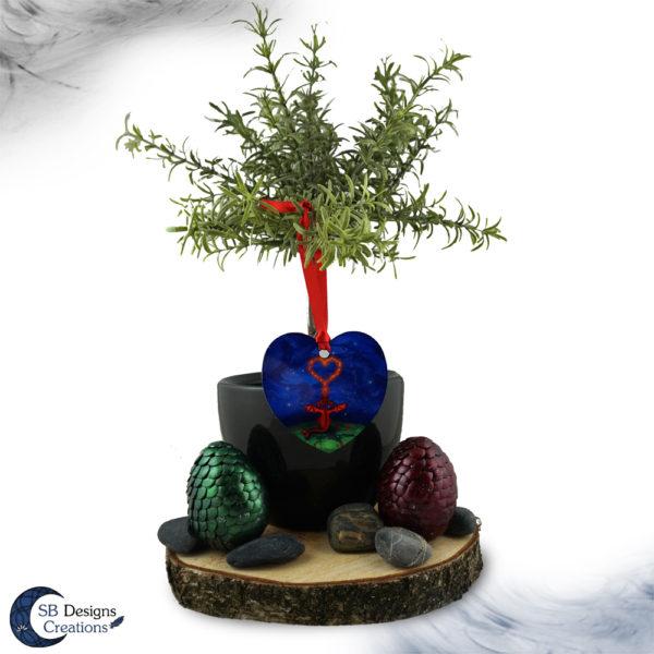 Ornament-Draak-Hart-Alluminium-HomeDecor-SBDesignsCreations-5
