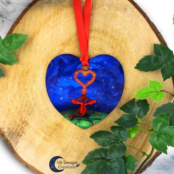 Ornament-Draak-Hart-Alluminium-HomeDecor-SBDesignsCreations