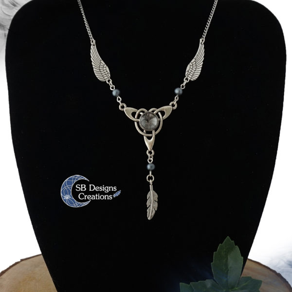 Celtic Necklace Celtic Wings Keltische ketting Angel Jewelry SB Designs Creations -1