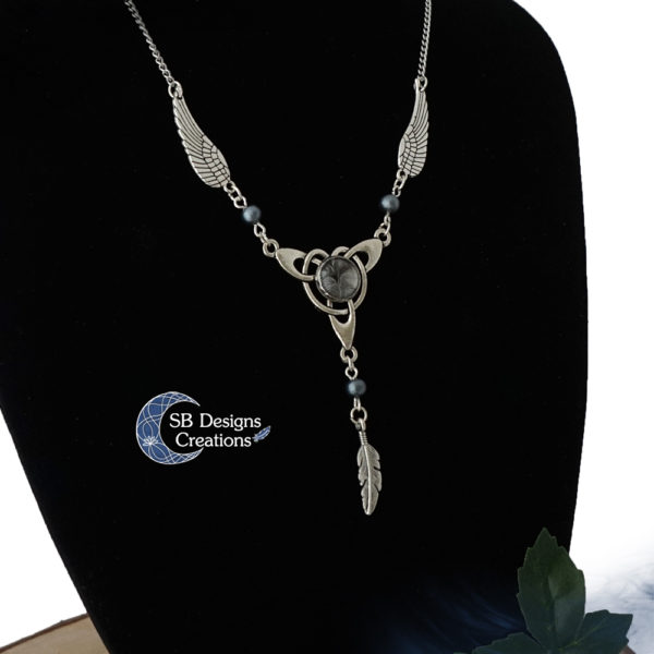 Celtic Necklace Celtic Wings Keltische ketting Angel Jewelry SB Designs Creations -2