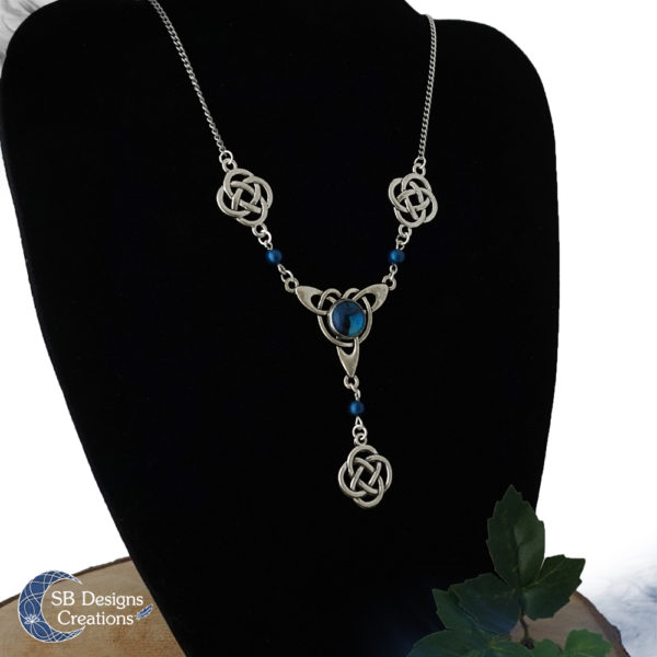 Celtic-Power-Keltische-Ketting-Blauwe-Fantasy-Ketting-Elf-Ketting-SBDesignsCreations-2