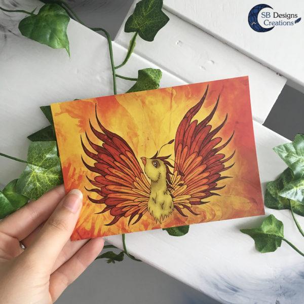 Phoenix-Postcard-SBDesignsCreations-Rise-Like-A-Phoenix-1
