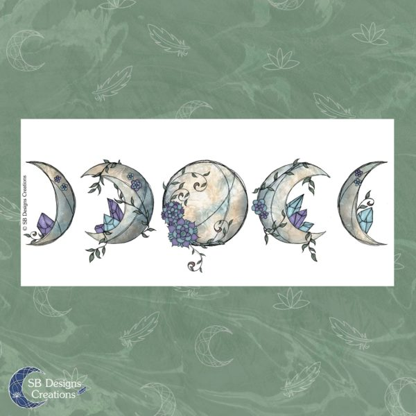 Unique illustrated Mugs - illustratiepreviews-moon