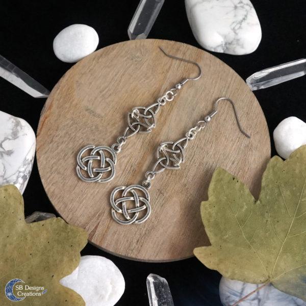 Celtic-Earrings-Nomya-Fantasy-Jewelry-SBDesignsCreations-2