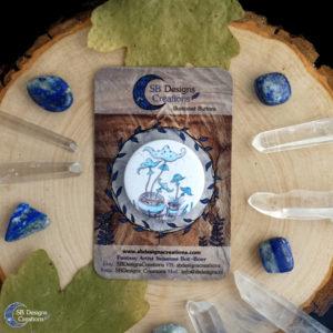 Mushrooms-Green-Witch-Naturelover-PlantMagick-SBDesignsCreations