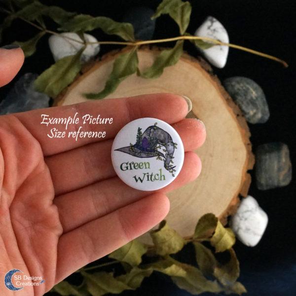 Tiger Spirit Animal Button Pin Badge SB Designs Creations-5