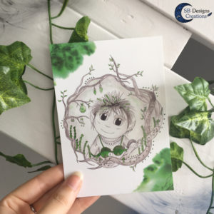 Goblin-Postcard-SBDesignsCreations-Artwork