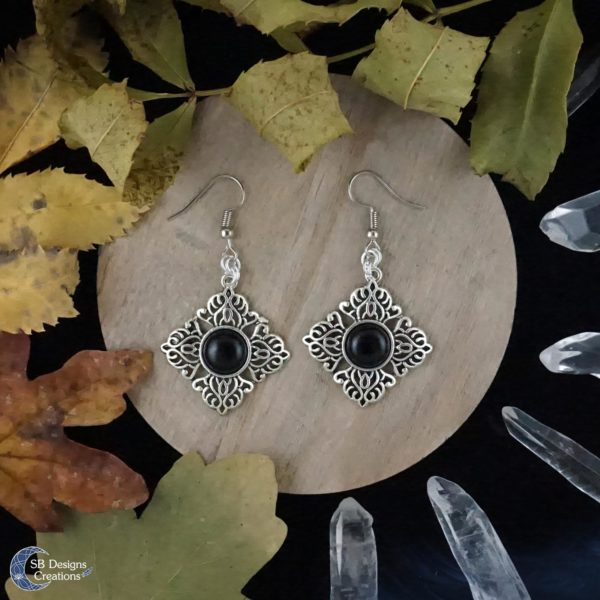 Witch-Earrings-Heks-Oorbellen-Onyx-Edelsteen