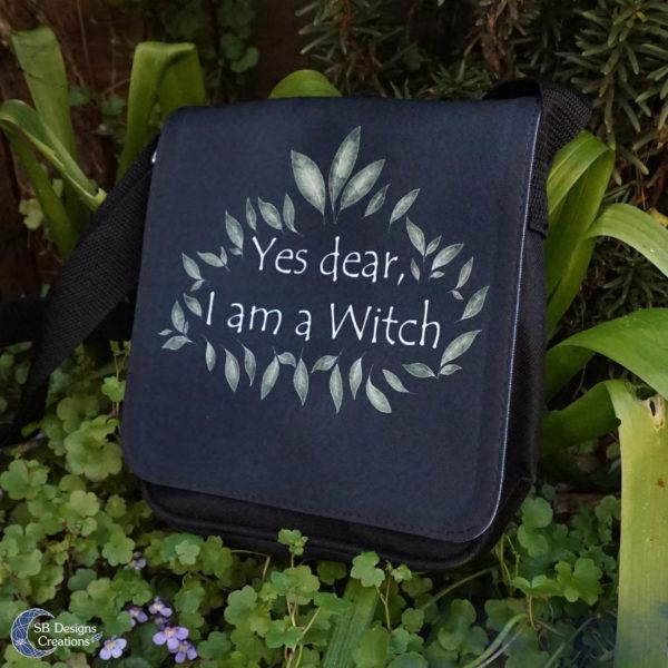 I am A Witch Shoulderbag-Heks tas-SBDesignsCreations3