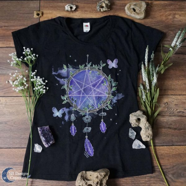Fairy-Magick-Witch-Shirt-Witchy-Clothes-SB Designs Creations