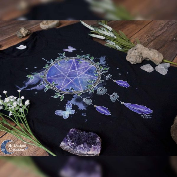 Fairy-Magick-Witch-Shirt-Witchy-Clothes-SB Designs Creations2