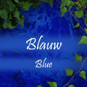 Blauw/ Blue