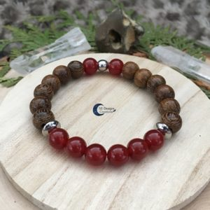 Carneool-Hout-Armband-Spirituele-Sieraden