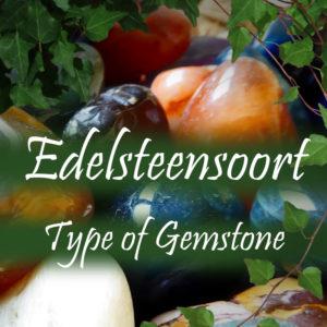 Edelsteensoort/ Type of gemstone