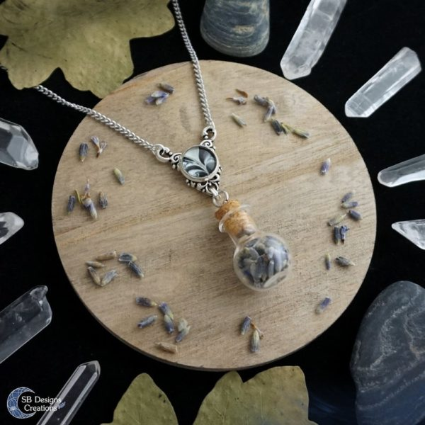 Lavender-Necklace-Witch-Necklace-Plant-Magick
