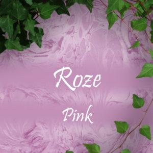 Roze sieraden