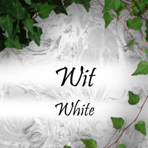 Witte sieraden