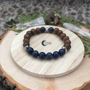 Wood-And-Stone-Lapis-Lazuli-Edelstenen-Armband