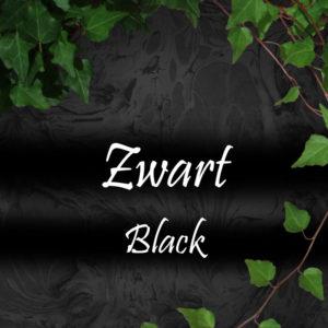 Zwart/ Black