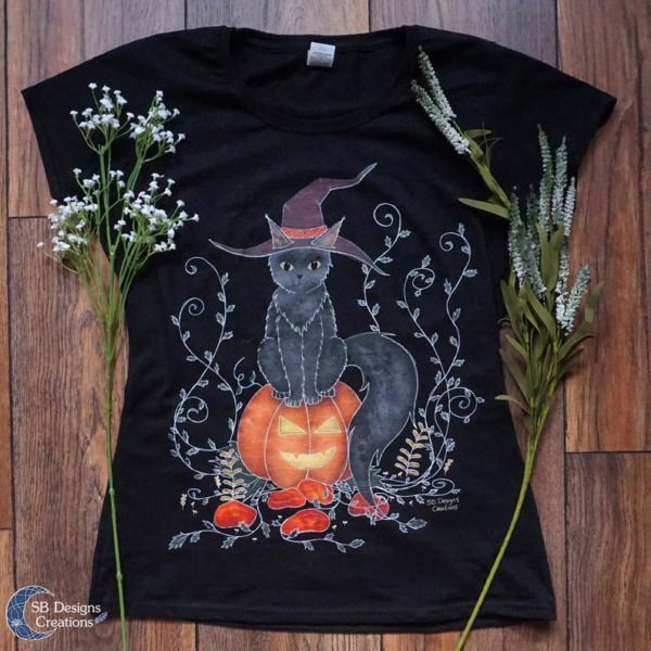 Halloween-Samhain-Kleding-Shirt-Ilustrated-Shirt-SBDesignsCreations