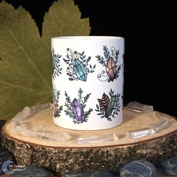 Crystal-Mug-Edelstenen-Mok-Floral-SBDesignsCreations-2