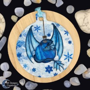 Kerstbal-Draak-Ornament-Kerstversiering-Yule