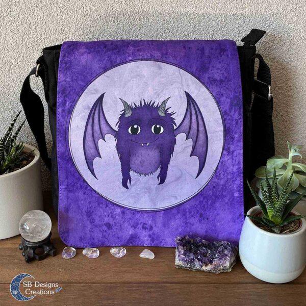Little Monster Purple Bag