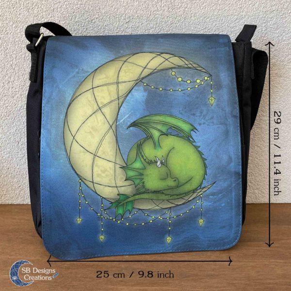 Moondragon-Maandraakje-Draken-Tas-Maan-Fantasy-Art-Schoudertas-Messenger-Bag-4