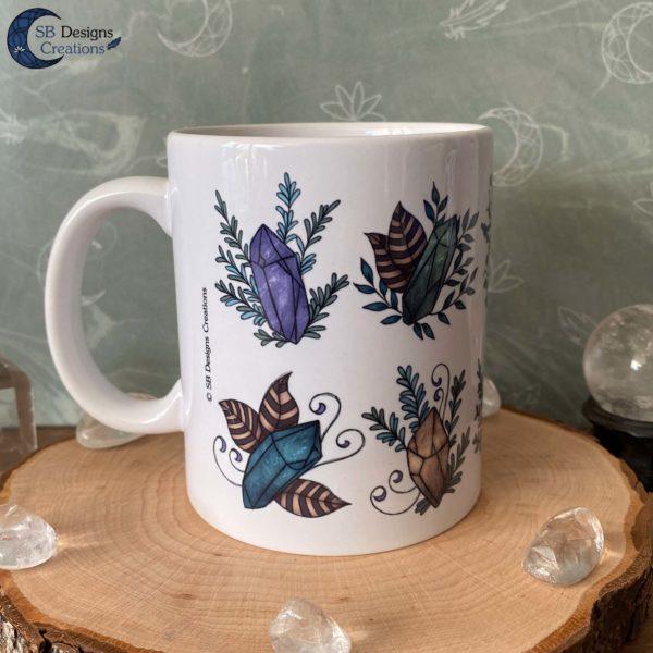 Witches Brew Koffie mok Edelstenen