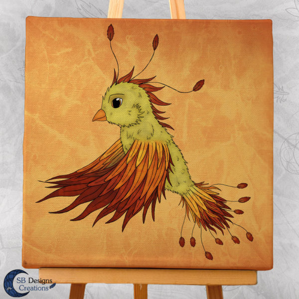 Canvas-Art-Feniks-Phoenix-Art-Fantasy-Muurdecoratie-3