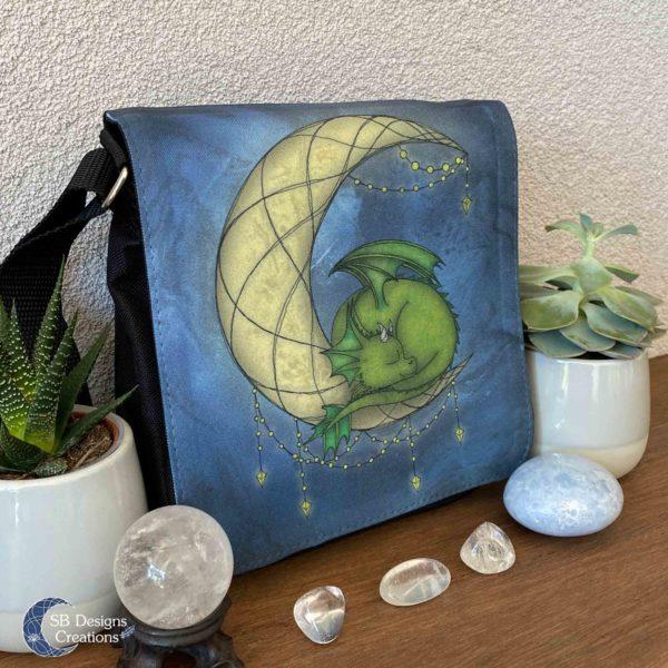 Draakje op de Maan - Dragon on the Moon - Little Moondragon-2