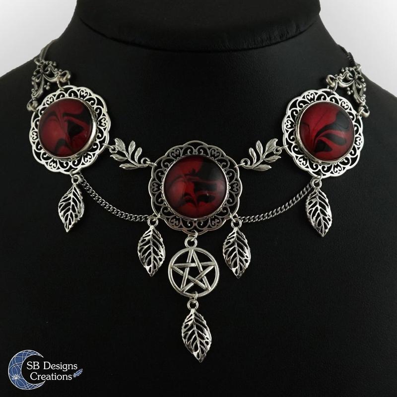 Portfolio Sieraden Pentagram ketting Heks ketting uniek