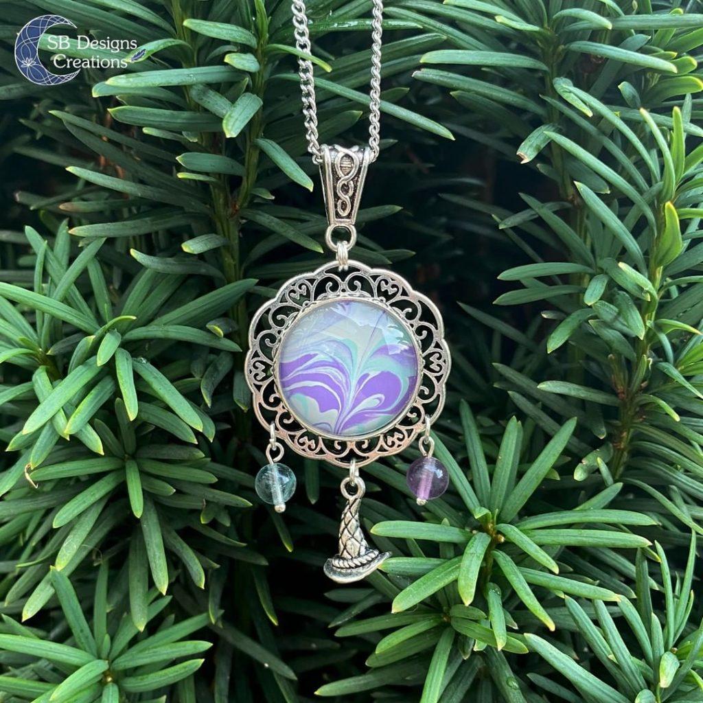 Van welke materialen zijn de sieraden gemaakt - fantasy Witchy Sieraden-2