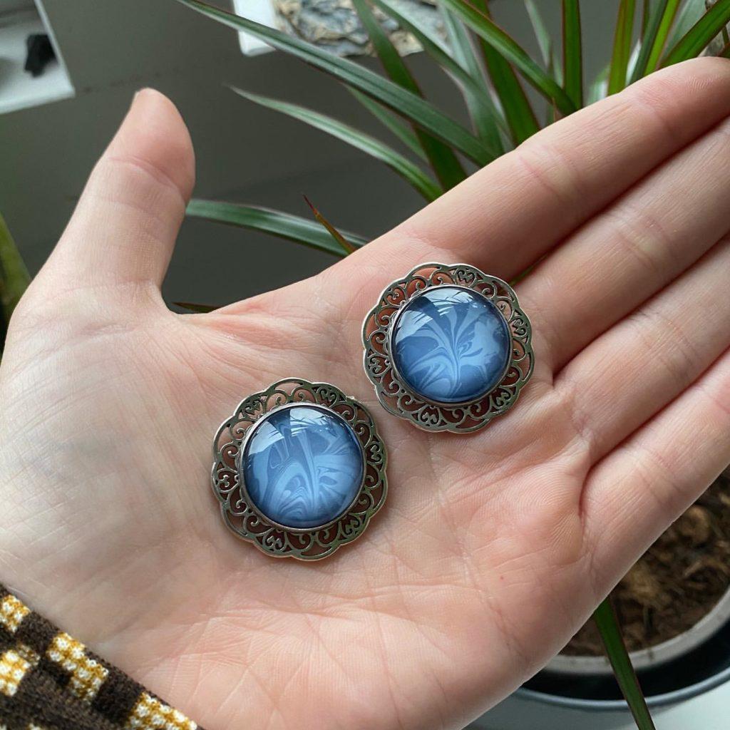 Van welke materialen zijn de sieraden gemaakt - fantasy Witchy Sieraden-5