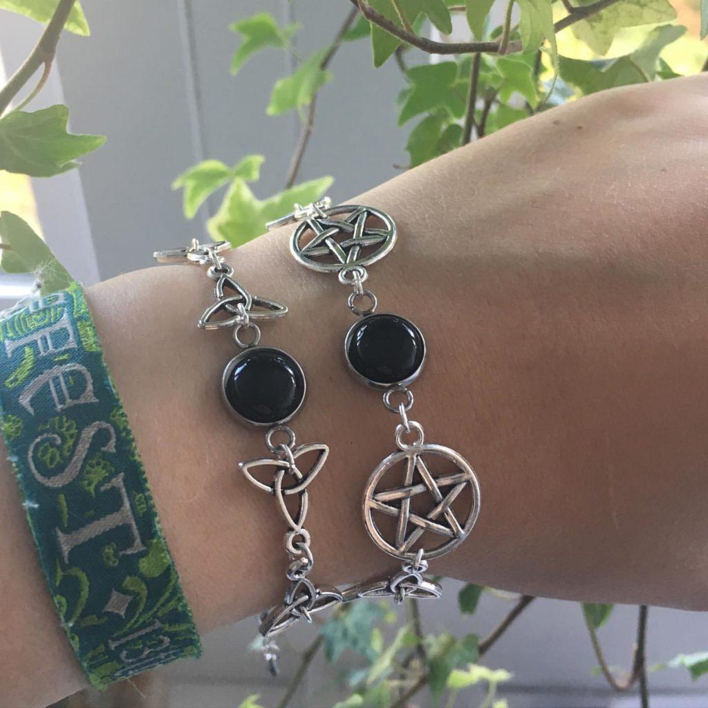 Van welke materialen zijn de sieraden gemaakt - fantasy Witchy Sieraden-6