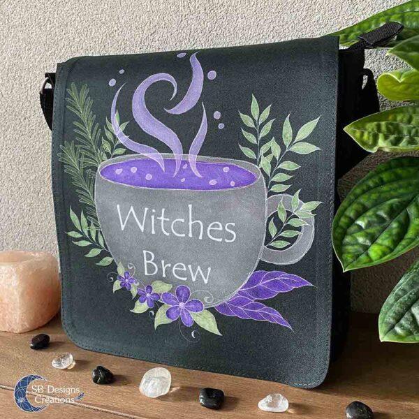 Kitchen Witch Shoulder Bag Witches Brew