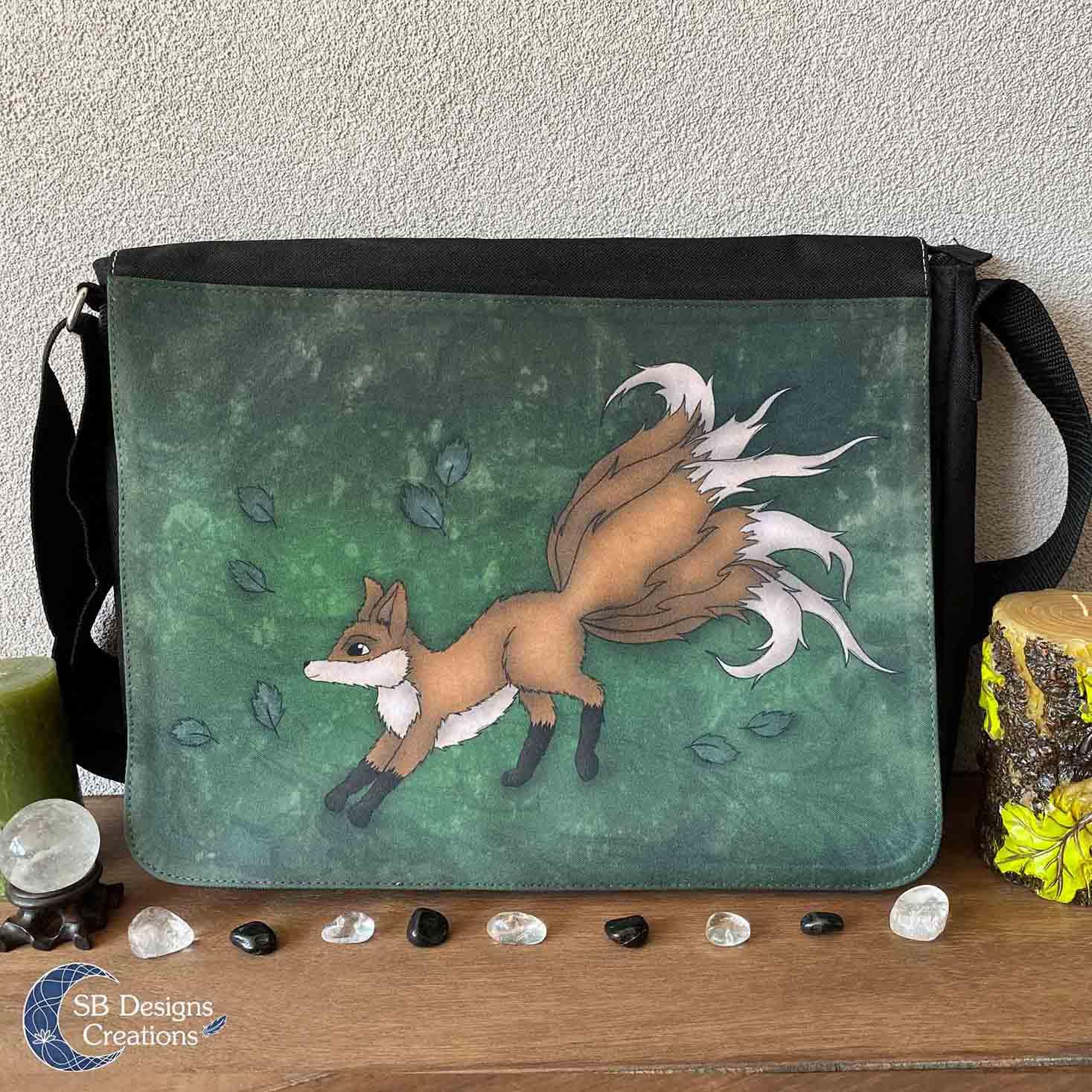 Kitsune-Vos-Tas-Schoudertas-Spirit-Creature-Bag-1