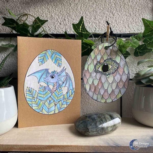 Ostara-Draakjes-Kleurplaat-Witchy-Creatief