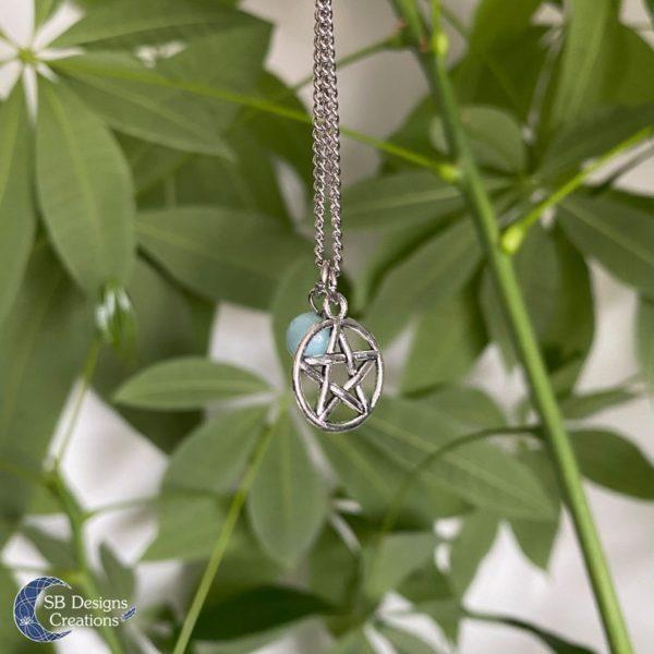 Pentagram-Hanger-Verzilverd-Met-Amazoniet-2