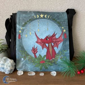 Red Dragon schoudertas - Shoulder Bag Fantasy-1
