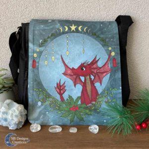 Red Dragon schoudertas - Shoulder Bag Fantasy-1