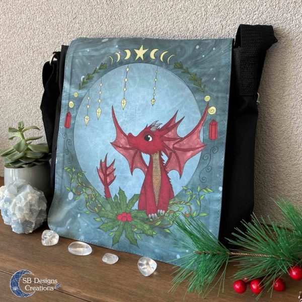 Red Dragon schoudertas - Shoulder Bag Fantasy-2