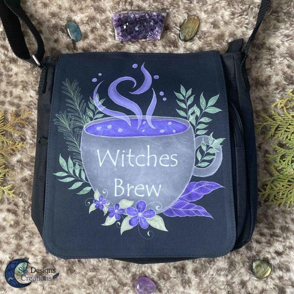 Witches-Brew-Heksenketel-Schoudertas-SBDesignsCreations-1