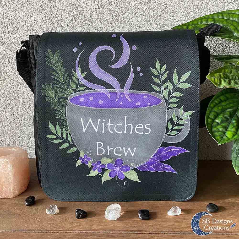 Witches Brew Heksentas Witch Art Schoudertas-1