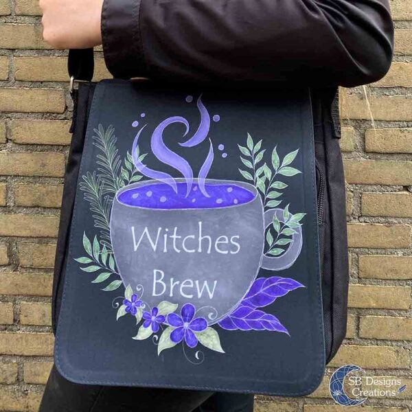 Witches Brew Heksentas Witch Art Schoudertas-4
