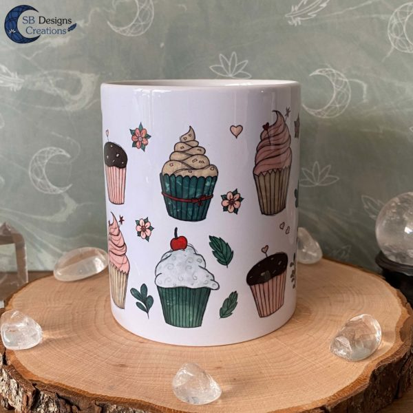 Cupcake Mug illustrated Mug