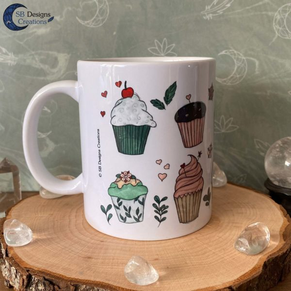 Cupcakes Baking Mug Housewarming Cadeau