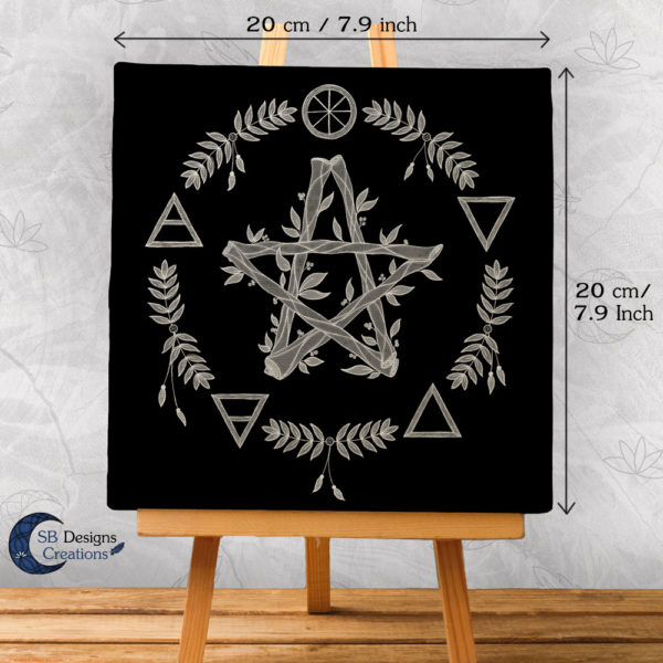 Elemental Magick - Canvas Art - Spiritueel - Hekserij -Heksenhuis-2