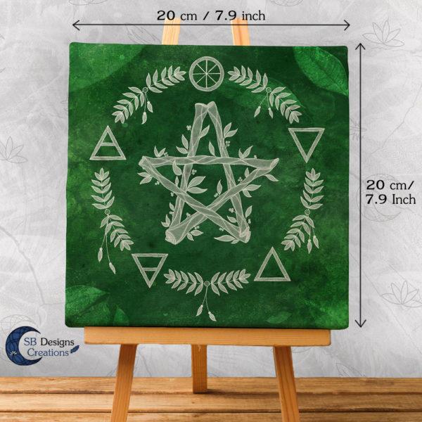 Green Witch - Groene Heks - Heksenhuis - Pagan huisdecoratie