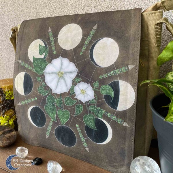Moonflowers-Moonphases-Shoulder-Bag-Messenger-Bag-SBDesignsCreations-4